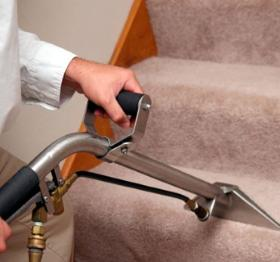 Carpet Cleaning on Stairs